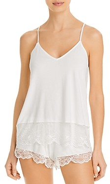 Eberjey Carmela Coucou Laced Trim Cami & Shorts