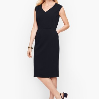 Talbots Italian Luxe Knit Sheath Dress