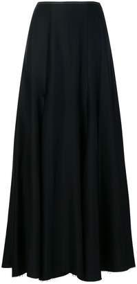 KHAITE pleated maxi skirt