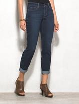 dressbarn WESTPORT Signature Fit Relaxed Crop Jeans