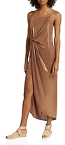 Halston Metallic Jersey Dress