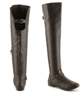 Journee Collection Loft Wide Calf Over The Knee Boot