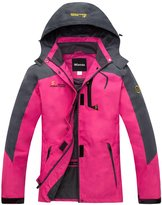 Wantdo Women's Water Resistant Windproof Active Wear Jacket For Cycling