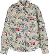Cath Kidston London Town Printed Cotton Shirt