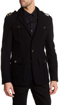 Versace Giacca Wool Coat