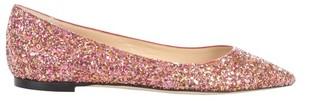 Jimmy Choo Glittered Romy Ballerinas