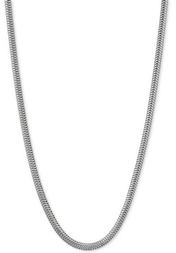 "Giani Bernini Snake Link 30"" Chain Necklace in Sterling Silver"