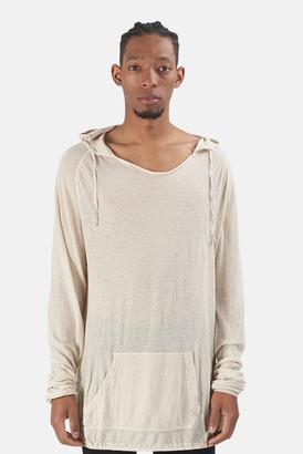 V::room Cotton Linen Pullover Hoodie