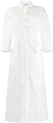Sandro Paris Zenali floral lace dress