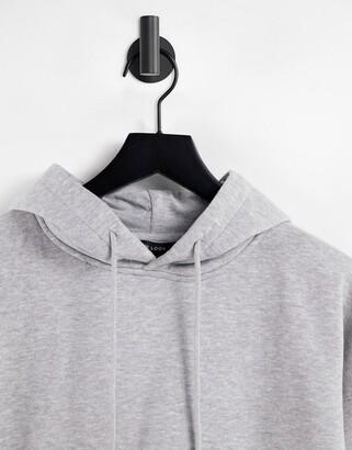 New Look hoodie in charcoal