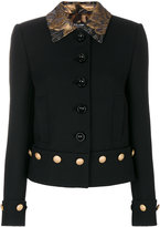 Dolce & Gabbana brocade collar jacket