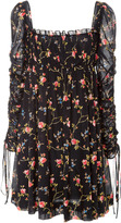 Jill Stuart Fabienne Floral Mini Dress