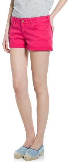 MANGO Outlet Rolled-Up Hem Shorts