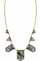 House Of Harlow Abalone Stations Necklace