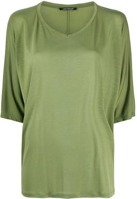 Luisa Cerano slouchy half-length sleeve T-shirt