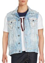 True Religion Jimmy Sleeveless Denim Vest