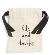 Kate Spade 'Bits And Baubles' Jewelry Pouch - White