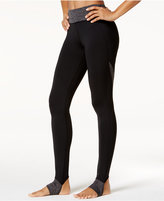 Gaiam Om Panel Barre Stirrup Leggings