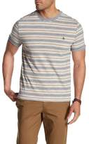 Original Penguin Short Sleeve Heathered Stripe Shirt