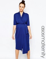 Asos Wiggle Wrap Dress