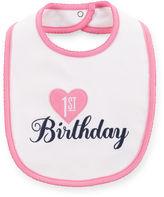 JCPenney Carter's First Birthday Bib - Girls