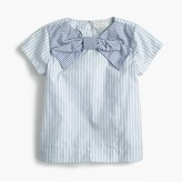 J.Crew Girls' giant bow top in mash-up