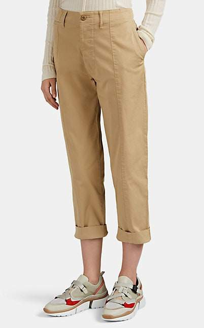 Alex Mill Women's Cotton Crop Trousers - Neutral