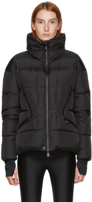 MONCLER GRENOBLE Black Down Dixence Puffer Jacket