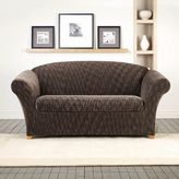 Sure Fit 2-piece Stretch Space Dye Sofa Slipcover