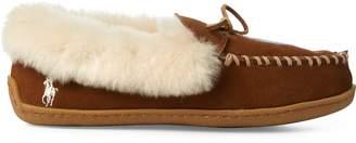 Ralph Lauren Polo Bear Moccasin Slipper