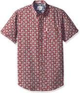 Ben Sherman Men's Short Sleeve Soho Print Summer-149