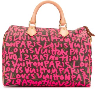 Louis Vuitton pre-owned Speedy 30 graffiti holdall