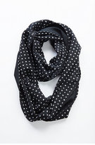 J. Jill Diamond Dot Silk Infinity Scarf