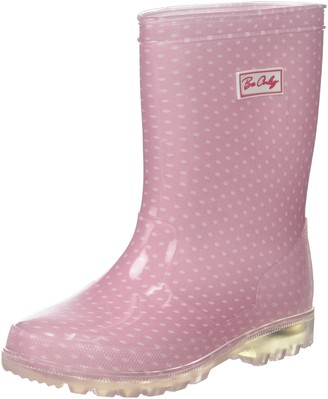 BeOnly Be Only Girls' Dotty Kid Flash Wellington Boots