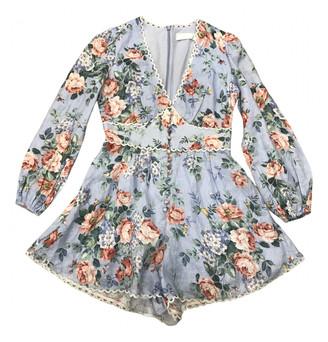 Zimmermann Multicolour Cotton Jumpsuits
