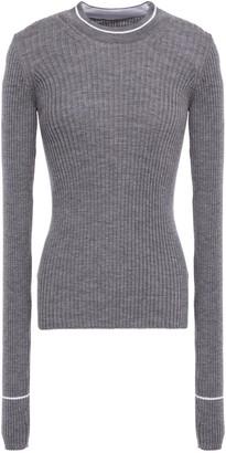 Maison Margiela Ribbed Wool-blend Sweater