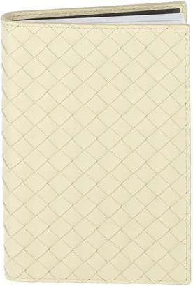 Bottega Veneta Leather Travel Notebook