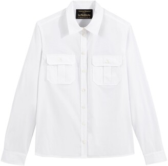 Vanessa Seward X La Redoute Collections Cotton Long-Sleeved Shirt