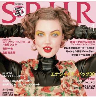 Kenneth Jay Lane Spur Magazine/April 2019 - Polished Gold Strawberry Clip Earrings