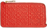 Loewe Red Anagram Card Holder