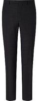 Daniel Hechter Textured Tailored Fit Suit Trousers, Charcoal