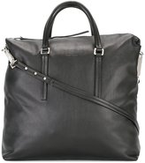 Rick Owens square tote - women - Leather - One Size