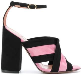 L'Autre Chose crossover strap sandals