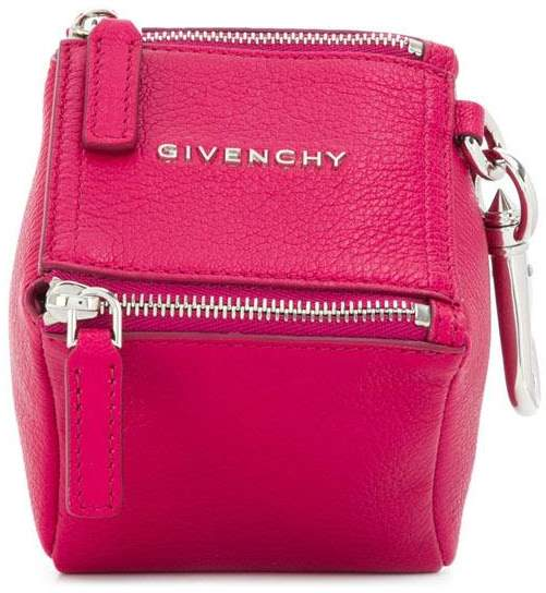 Givenchy Pink Leather Clutch