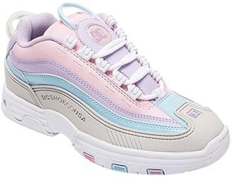 DC Legacy OG (Grey/Pink) Women's Skate Shoes
