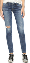 A Gold E AGOLDE Chloe Low Rise Slim Jeans