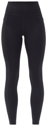 Girlfriend Collective High-rise Pocketed Leggings - Black