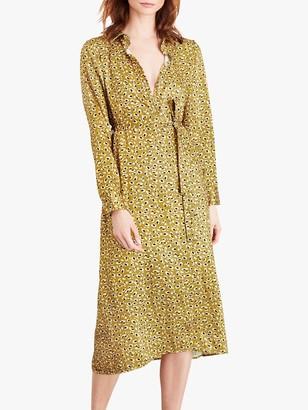 Damsel in a Dress Ulrika Shirt Dress, Lime/Multi