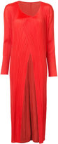 Pleats Please By Issey Miyake pleated coat