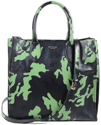 Dee Ocleppo Dee Camouflage Holdall Leather Tote